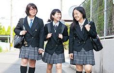 大橋学園高等学校制服画像
